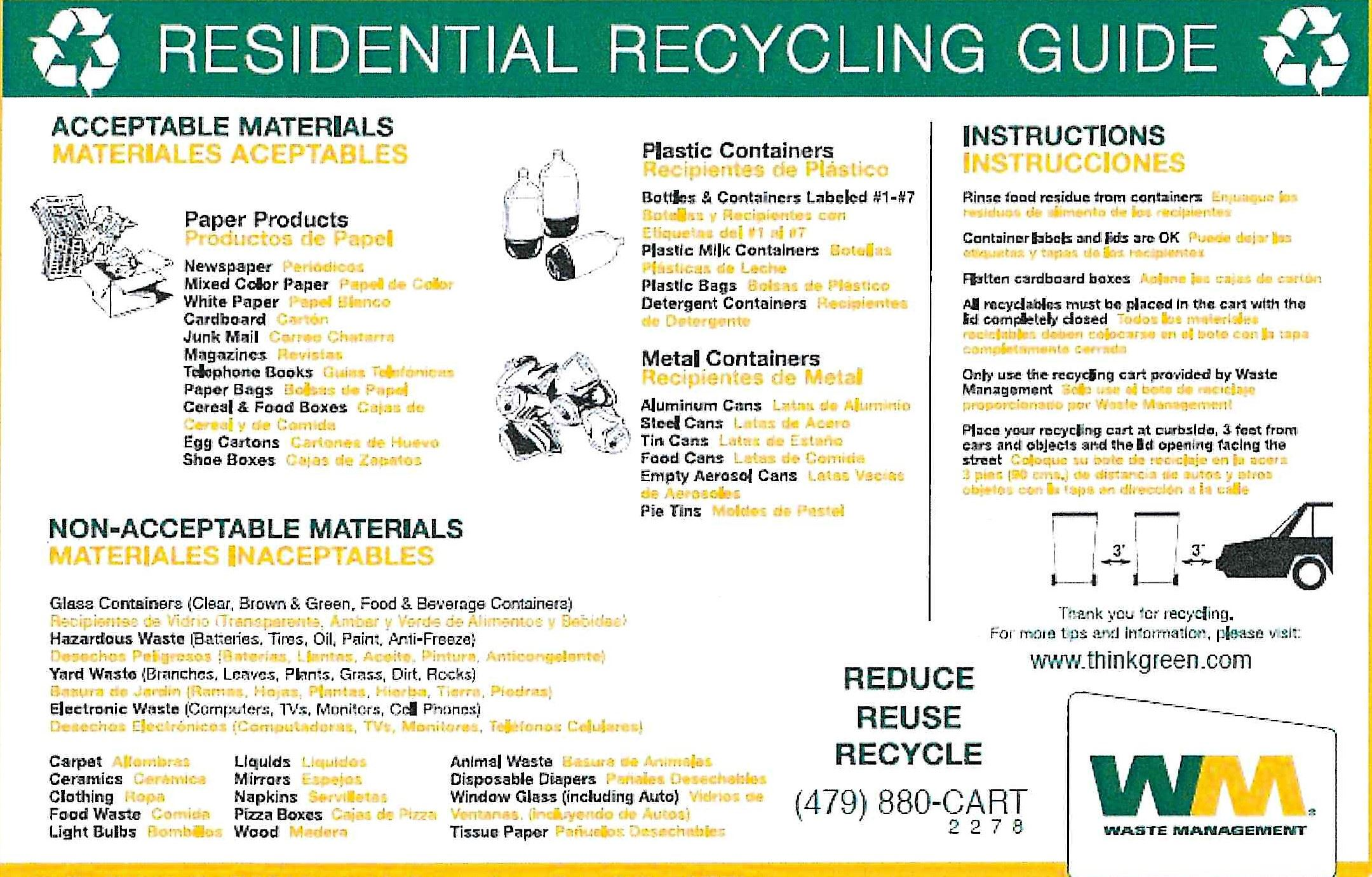 Residential Recycling Guide (2)